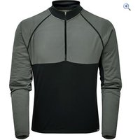 Zucci Comp Half Zip Long Sleeve Jersey - Size: XL - Colour: STRETCH-NICKEL