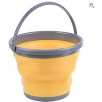 Hi Gear Fold Flat Bucket 5L - Colour: Yellow
