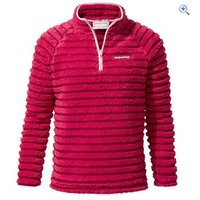 Craghoppers Kids Appleby Half-Zip Fleece - Size: 5-6 - Colour: TROPICAL PINK