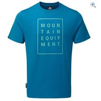 Mountain Equipment Mens Letterbox Tee - Size: S - Colour: Ink Blue