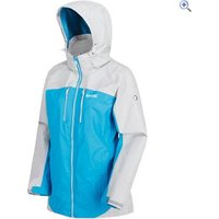 Regatta Womens Calderdale II Waterproof Jacket - Size: 12 - Colour: FLURO BLUE
