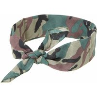 Claire's Camo Print Bandana Headwrap Bracelet - Camo Gifts