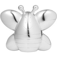 Little Friends Silver Plated Bee Bank - Bee Gifts