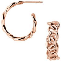 Signature 18kt Rose Gold Vermeil Mini Hoop Earrings