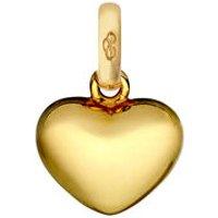 18kt Yellow Gold Heart Charm