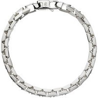 Essentials Sterling Silver Square Chain Bracelet by Links of London