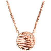 Thames 18K Rose Gold Vermeil Necklace by Links of London