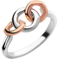 20/20 Sterling Silver & 18kt Rose Gold Ring - Ring Gifts