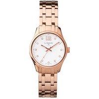 Greenwich Noon Women's Rose Gold Tone Bracelet Watch Steel - Bracelet Gifts