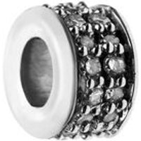 Sweetie Diamond XS Pave Mini Bead in Silver