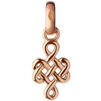 18kt Rose Gold Infinity Knot Charm