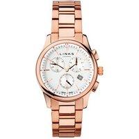 Regent Men's Rose Gold-Plated Chronograph Bracelet Watch - Bracelet Gifts