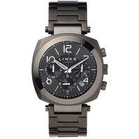 Brompton Men's Black Stainless Steel Chronograph Bracelet Watch - Bracelet Gifts