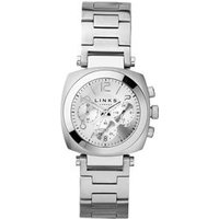 Brompton Women's Stainless Steel Chronograph Bracelet Watch in Silver by Links of London