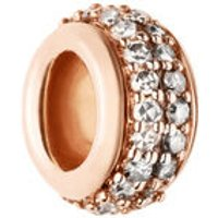 Sweetie 18kt Rose Gold Vermeil & Champagne Diamond Pave Bead - Champagne Gifts