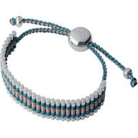 Turquoise & Copper Friendship Bracelet in Silver - Turquoise Gifts