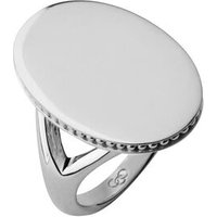 Narrative Sterling Silver Oval Ring - Ring Gifts