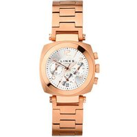 Brompton Women's Rose Gold-Plated Chronograph Bracelet Watch by Links of London