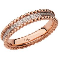Effervescence 18kt Rose Gold & Diamond Band Ring by Links of London