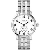 Greenwich Men's Stainless Steel Bracelet Watch in Silver - Bracelet Gifts