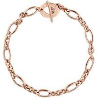 18kt Rose Gold Charm Bracelet