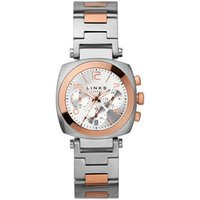 Brompton Women's Rose Gold-Plated Chronograph Bracelet Watch