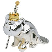 Silver-Plated Regal Nodding Dog