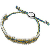 Yellow, Turquoise & Blue Navajo Friendship Bracelet - Turquoise Gifts