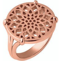 Timeless 18kt Rose Gold Vermeil Coin Ring - Ring Gifts