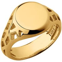 Timeless 18kt Yellow Gold Vermeil Signet Ring