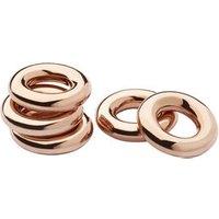 18kt Rose Gold Vermeil Sweetie Rings