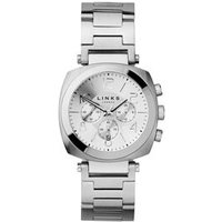 Brompton White Dial Stainless Steel Chronograph Bracelet Watch in Silver by Links of London