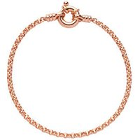 18kt Rose Gold Vermeil Mini Belcher Bracelet