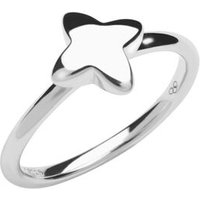 Splendour Sterling Silver Four-Point Star Ring by Links of London