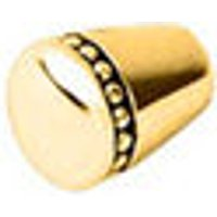 Amulet 18kt Yellow Gold Vermeil Charm Cuff End Caps - Charm Gifts