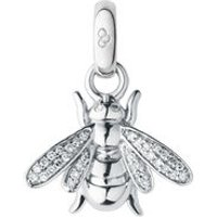 18kt White Gold & Diamond Bee Charm - Bee Gifts