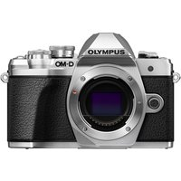 Olympus OM-D E-M10 Mark III Mirrorless Camera Body Silver