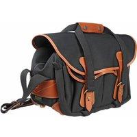 Billingham 225 Shoulder Bag - Black Canvas/Tan