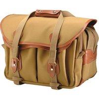 Billingham 335 Shoulder Bag - Khaki Canvas/Tan