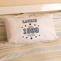 Boys 16th Birthday Established Since (Year) Pillowcase - 16th Birthday Gifts