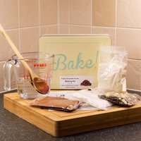 Triple Chocolate Scone Baking Set & Cake Tin - 90th Birthday Gifts