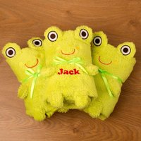 Personalised Frog Blanket - Blanket Gifts