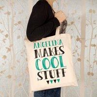 Customised Makes Cool Stuff Shopper - Stuff Gifts