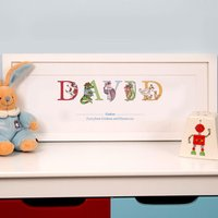 Personalised God Son Name Frame - Son Gifts
