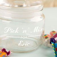 Unique Favourite Sweet Glass Jar - 16th Birthday Gifts