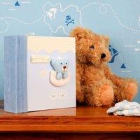 Baby Boy Fabric Album - Baby Boy Gifts