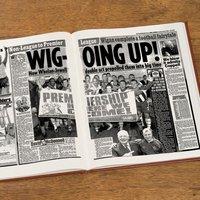 Custom Wigan Athletic Football Club Headline Book - Custom Gifts