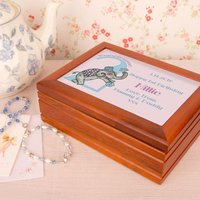 Elephant personalised Musical Jewellery Box - Jewellery Box Gifts