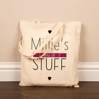 Personalised Bag of Stuff Cotton Shopper - Stuff Gifts