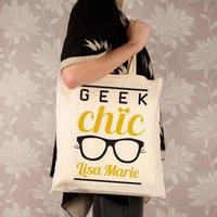 Customised Geek Chic Shoulder Bag - Shoulder Bag Gifts